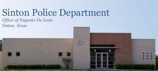 Sinton Police Department: Office of Eugenio De Leon